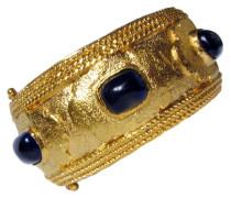 Second Hand  CHANEL GRIPOIX Armband mit saphirblauen Cabochons - RENAISSANCE Revival