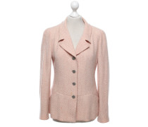 Second Hand  Blazer in Lachs/Creme