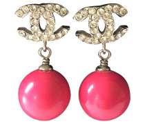 Second Hand  Ohrringe mit Perle
