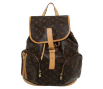 0d4555207c034 Second Hand Rucksack aus Canvas in Braun. Louis Vuitton