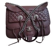 Second Hand  Paris-Dallas Fringe Saddle Bag