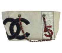 Second Hand  Tote Bag aus Canvas in Weiß
