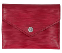 "Second Hand  ""Victorine Wallet Epi Leder"""