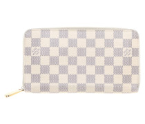 Second Hand  Portemonnaie aus Damier Azur Canvas