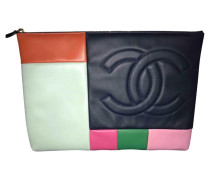 Second Hand  Clutch in Multicolor
