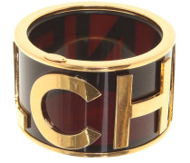 Second Hand  Armreif mit goldfarbenem Logo