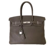 "Second Hand  ""Birkin Bag 35"" in Etoupe aus Clemence Leder"