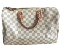"Second Hand  ""Speedy 35 Damier Azur Canvas"""