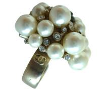 Second Hand  Ring mit Perlen