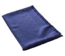 Second Hand  Monogram Tuch in Blau