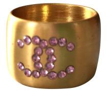 Second Hand  Ring aus Vergoldet in Gold