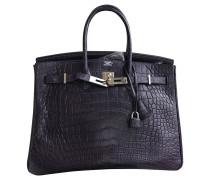 Second Hand  Birkin Bag 35 aus Alligatorenleder