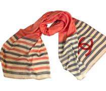 Second Hand  Schal mit Streifenmuster