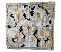 Second Hand  Schal/Tuch aus Seide in Beige