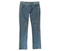 Second Hand  Jeans aus Baumwolle in Blau