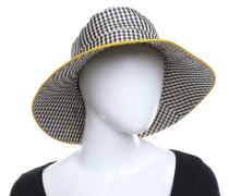 Second Hand  Hut mit Karo-Muster