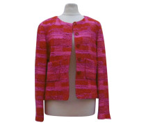 Second Hand  Jacke in Rot/Pink