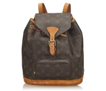 "Second Hand  ""Montsouris MM Monogram Canvas"""