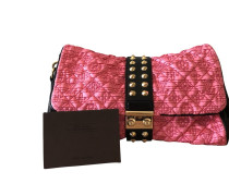 Second Hand  Clutch aus Seide in Rosa / Pink