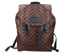 "Second Hand  ""Runner Backpack Damier Ebene Canvas"""