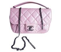 Second Hand  Handtasche aus Leder in Rosa / Pink