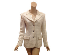 Second Hand  Bouclé-Blazer in Beige