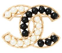 Second Hand  Brosche mit Perlen