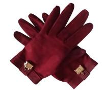 Second Hand  Handschuhe mit vergoldetem Anhänger