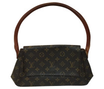 "Second Hand  ""Looping Mini Monogram Canvas"""