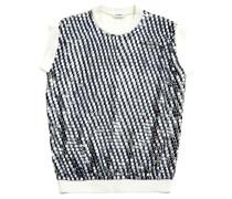 Second Hand  Sweatshirt mit Pailletten-Besatz