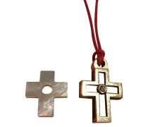 Second Hand  Kreuz-Anhänger aus Gold