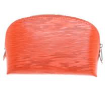Second Hand  Täschchen/Portemonnaie aus Leder in Orange