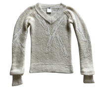 Second Hand  Pullover in Creme