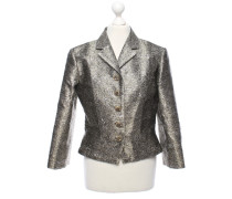 Second Hand  Blazer in Silber/Gold