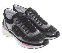 Second Hand  Sneakers aus Tweed