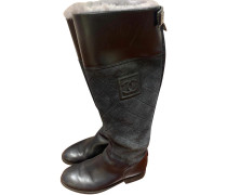 Second Hand Stiefel in Grau