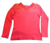 Second Hand  Pullover mit Spitzenpasse