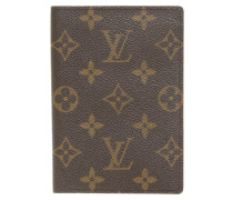 Second Hand  Passport-Etui aus Monogram Canvas