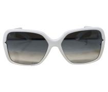 Second Hand Sonnenbrille in Weiß
