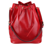 Second Hand  Sac Noé aus Leder in Rot