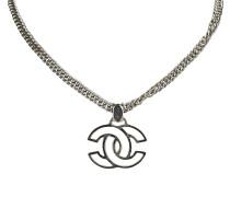 Second Hand  Halskette mit Logo-Anhänger