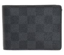 Second Hand  Geldbörse aus Damier Graphite Canvas