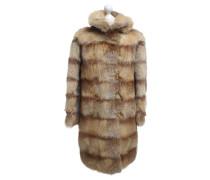 Second Hand  Mantel aus Fuchsfell
