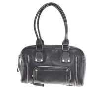 Second Hand  Ledertasche in Schwarz