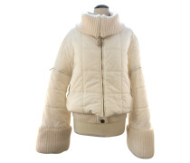 Second Hand  Winterjacke in Creme