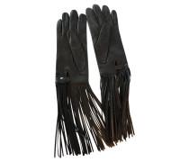 Second Hand  Handschuhe mit Fransen