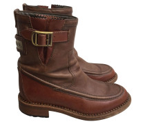 Second Hand  Boots in Braun