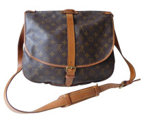 Second Hand  Saumur 35 Monogram Canvas