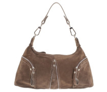 Second Hand  Handtasche in Khaki