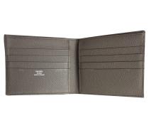 Second Hand  Täschchen/Portemonnaie aus Canvas in Grau